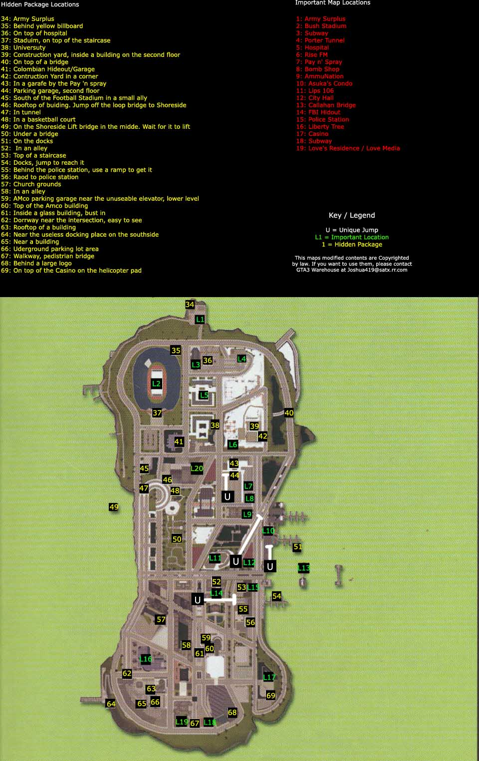 Acido's Website - GTA3 Maps